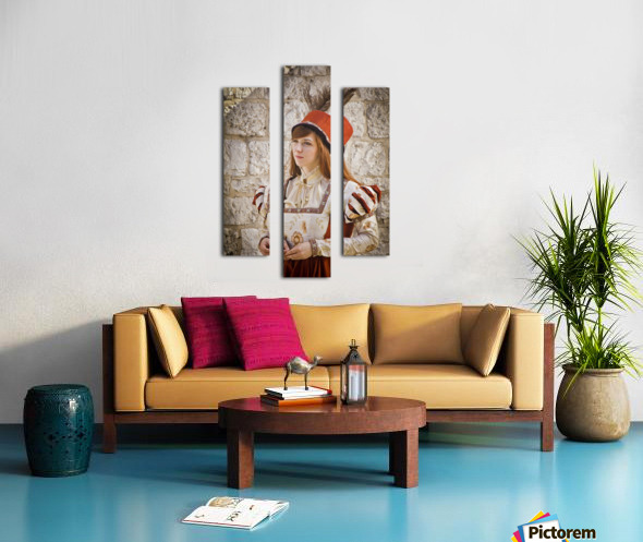 Polish Girl Canvas print