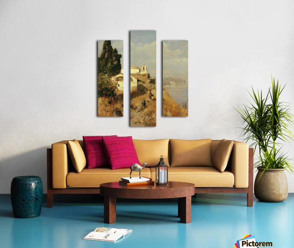On Ischia in Casamicciola Canvas print