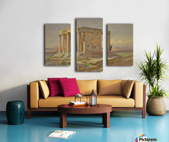 The Temple of Athena Nike Canvas print