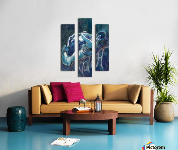 Kam Canvas print