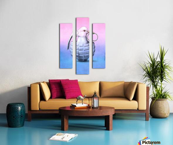 Peace  -  Pawel Kuczynski Canvas print