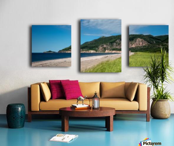 Petit Etang Beach Memories Canvas print
