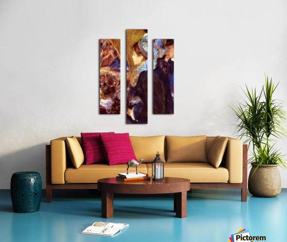 Le Cafe Concert by Renoir Canvas print