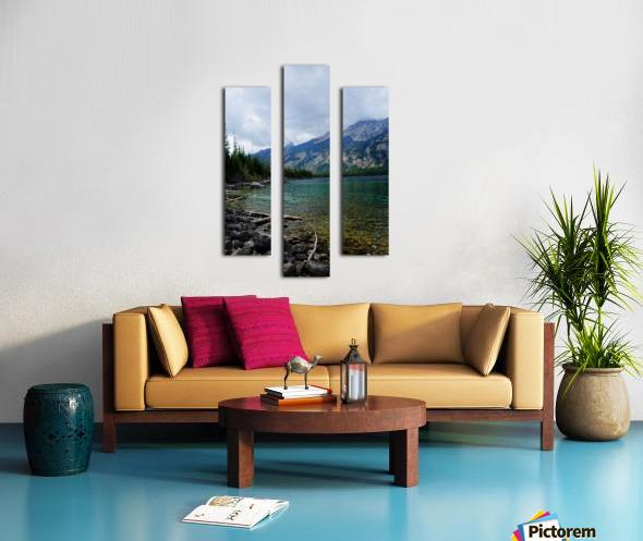 Jenny Lake   Jackson Hole Canvas print