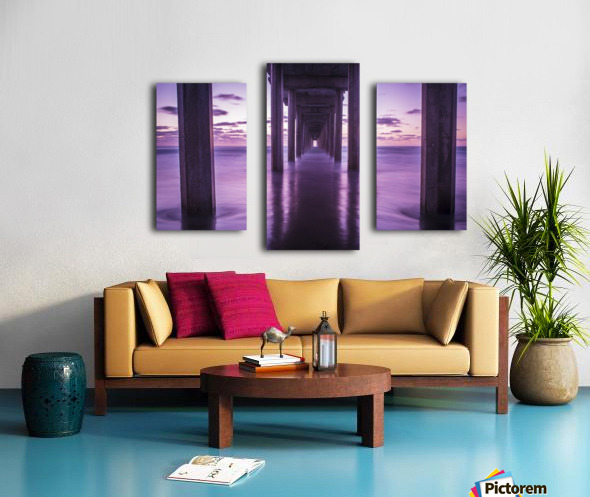 Infinite Loop Canvas print