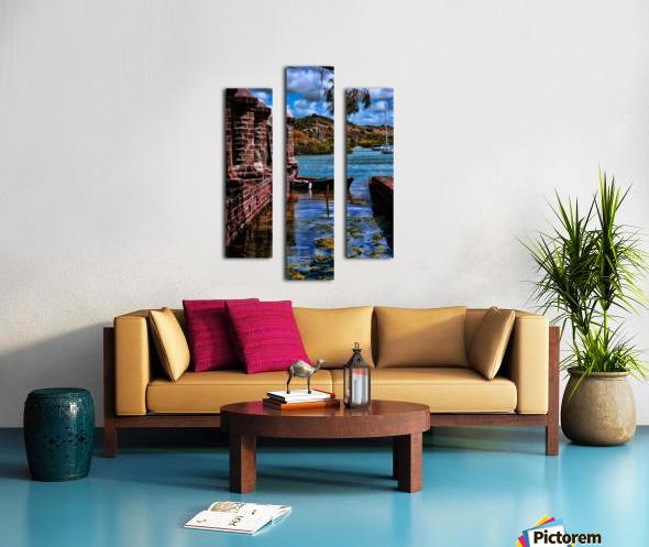 nelsons dockyard antigua Canvas print