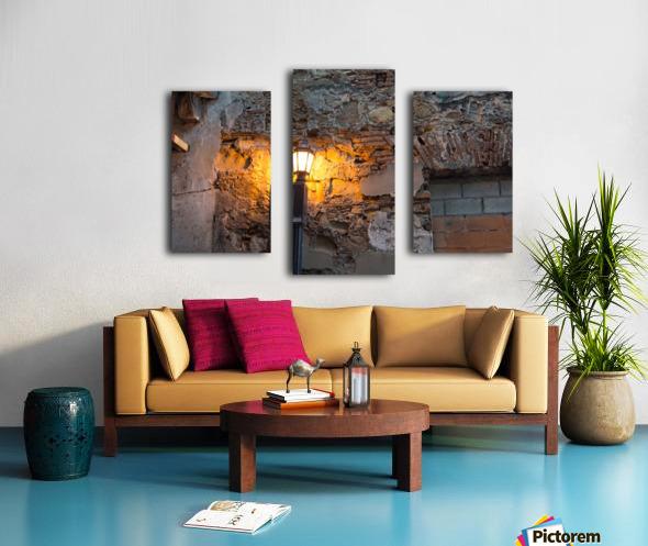 The yelow Light  Canvas print