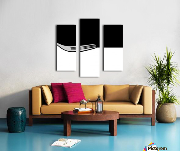 Minimal Abstraction Canvas print