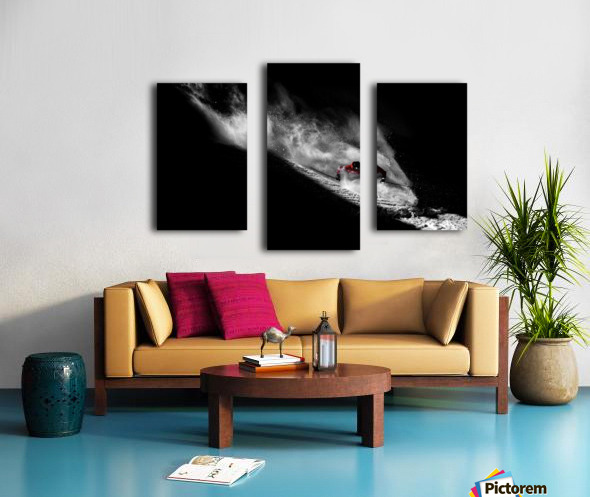Caught in the sin Canvas print