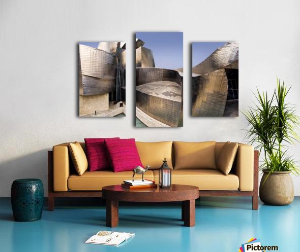 undulation Canvas print