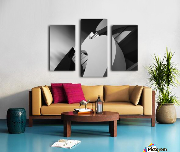 Curves ~~ Canvas print