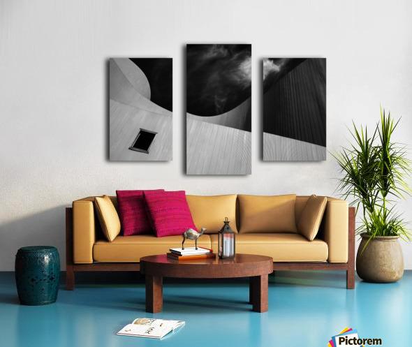 The window Canvas print