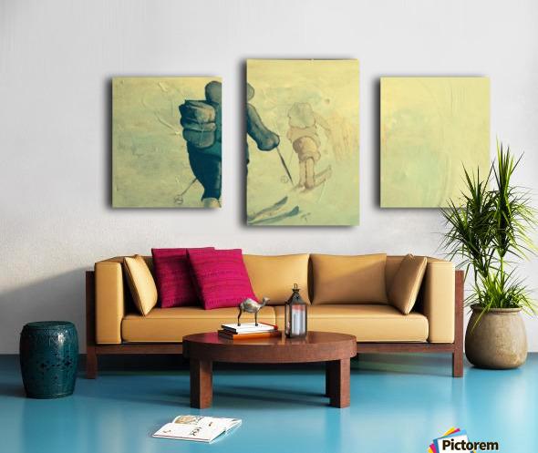 Winter Soltice Canvas print