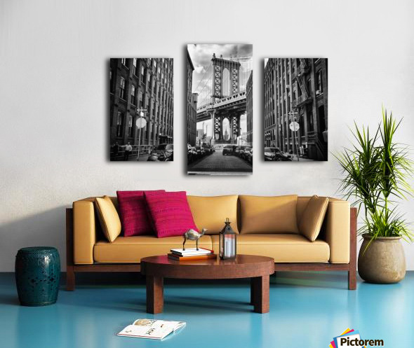 In America Canvas print