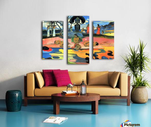 Mohana no Atua by Gauguin Canvas print