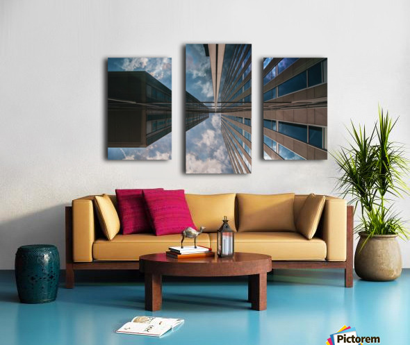 Meeting point Canvas print