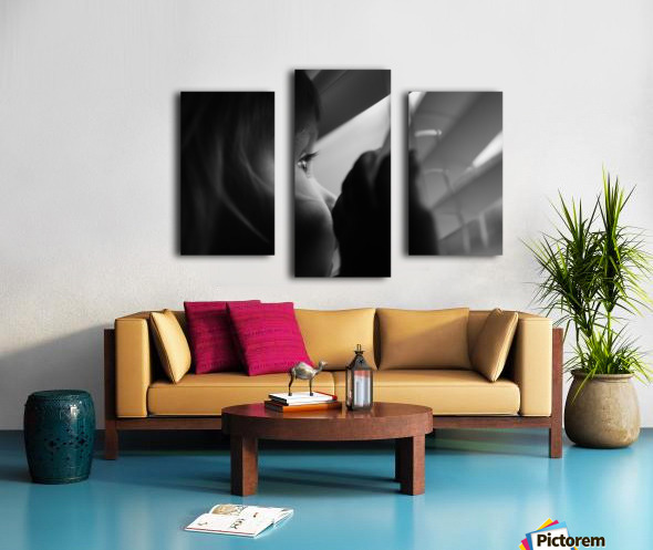 Searching for something Canvas print