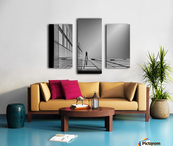 The evolution of space ... Canvas print