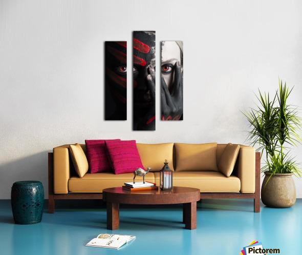 4 Elements - Fire Canvas print
