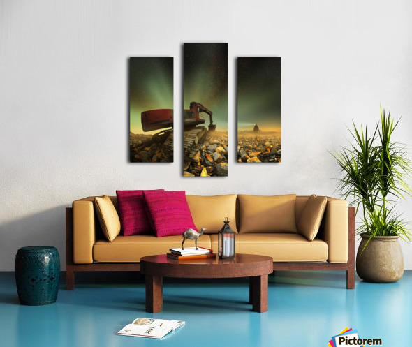 Goldherer Canvas print
