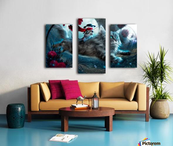 The Hero Canvas print