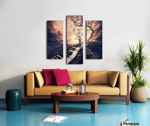 Rhapsody Canvas print