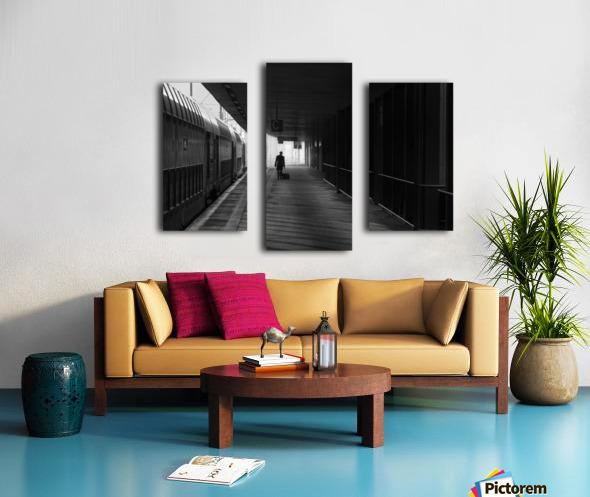 passenger Canvas print