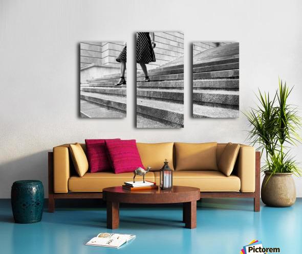 Escape Myself Canvas print