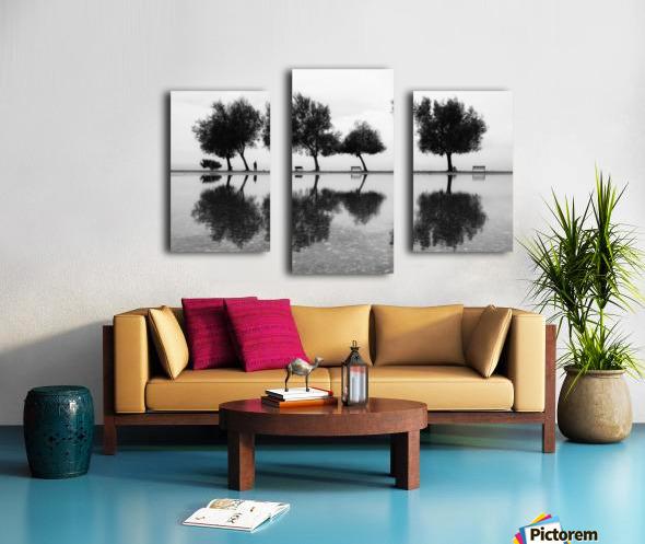 KarAŸA±yakalA±lar Canvas print