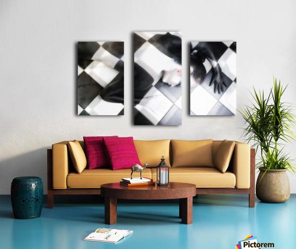 Tile Tales Canvas print