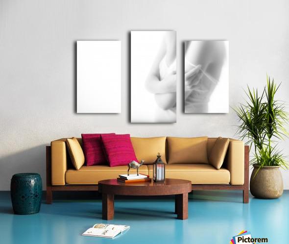 Undress Canvas print