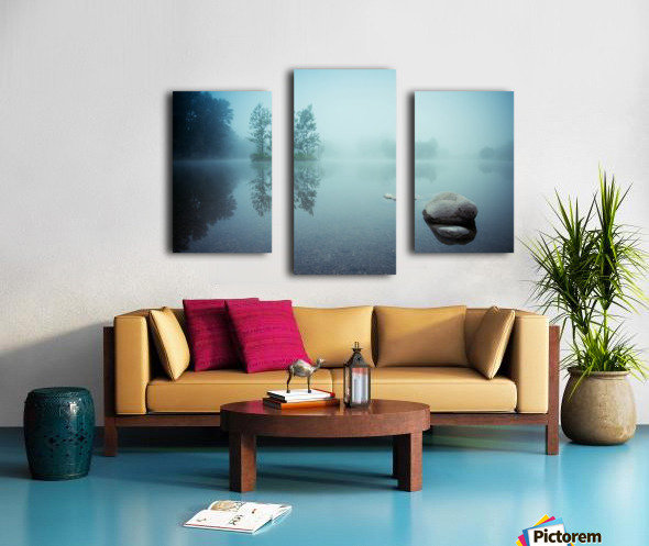 Laguna Morning Canvas print