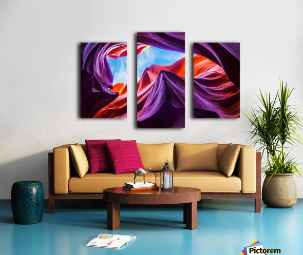 Magical Lower Antelope Canyon Canvas print