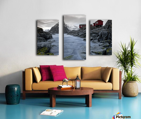Living Norway Canvas print