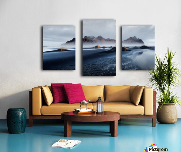 Stokksnes Canvas print