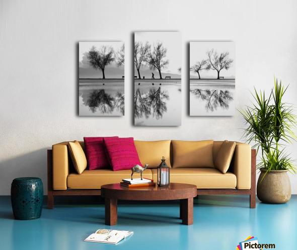 KarAŸA±yaka'dan Bir YansA±ma Canvas print