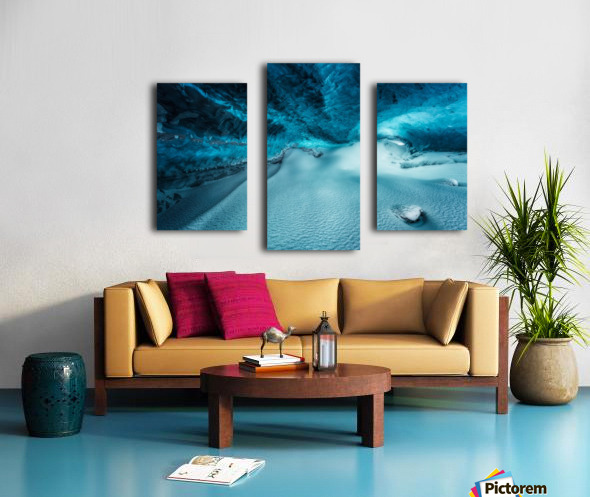 Hidden Frozen World Canvas print