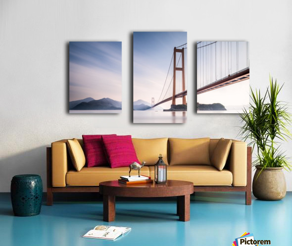 Xihou Bridge & Moon Bay Canvas print