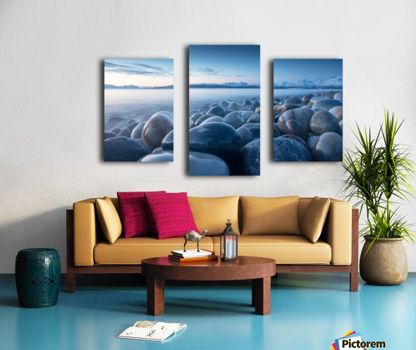 An ocean of time Canvas print