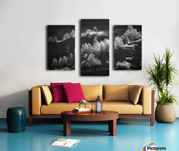 Fundatura Ponorului Canvas print