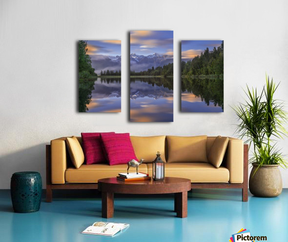 Lake Matheson Canvas print
