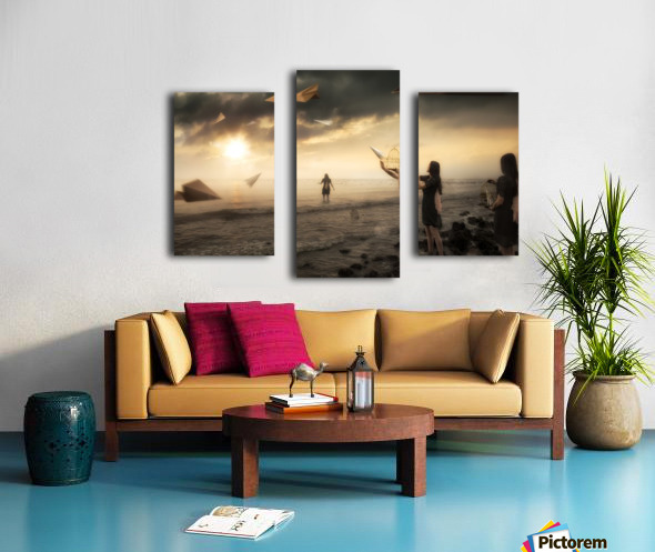 Released Canvas print