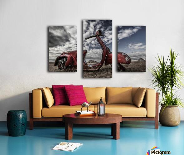 Framed Memories Impression sur toile