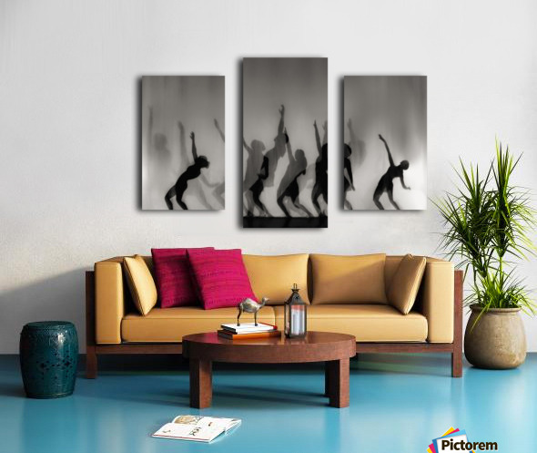 Dance is the language of the soul ... Canvas print