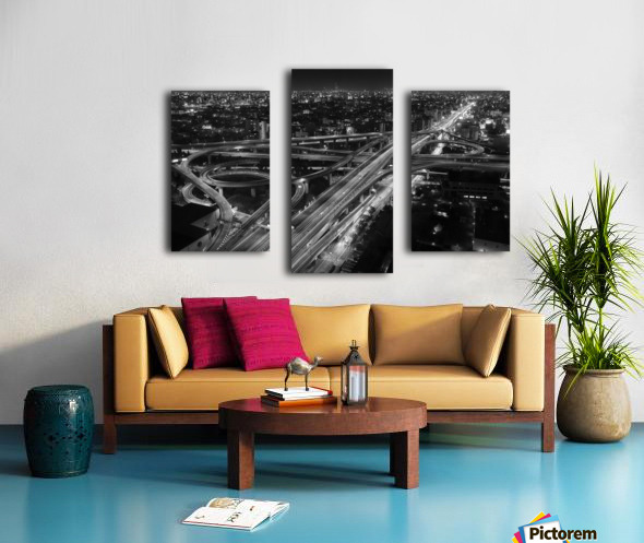 motorway Canvas print