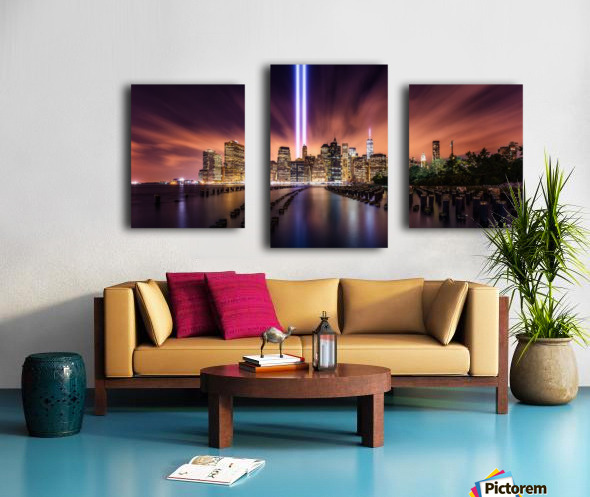 Unforgettable 9-11 Canvas print