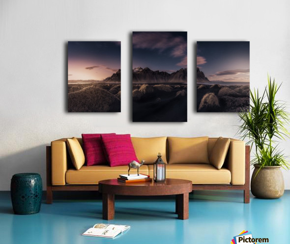 Since the End of the Day Canvas print
