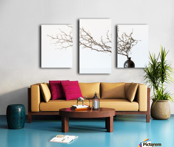 Vase And Branch Canvas print