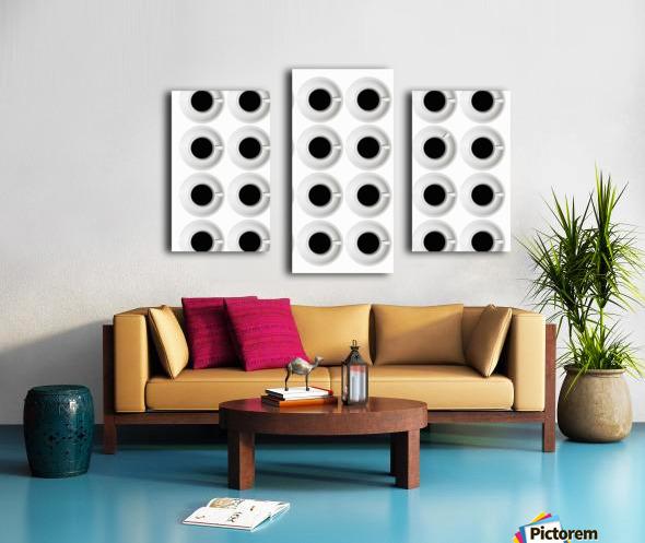 Cups Canvas print