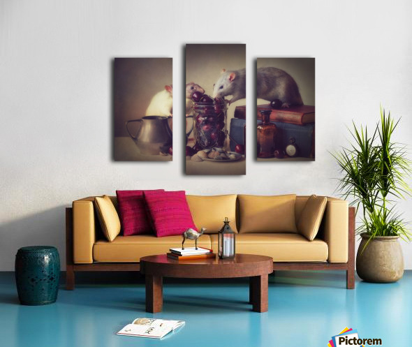 Snoozy and Jimmy Canvas print